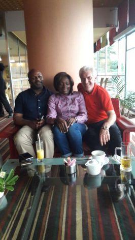 Avec mes amis H.Broos & EM