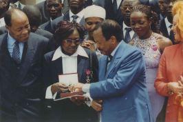 Avec SE Paul Biya