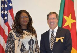 Françoise et Son Excellence Michael Hoza US Ambassadeur